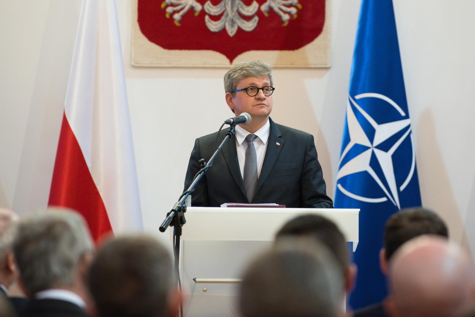 18. rocznica wstąpienia Polski do NATO. Fot. PAP/Jakub Kamiński.