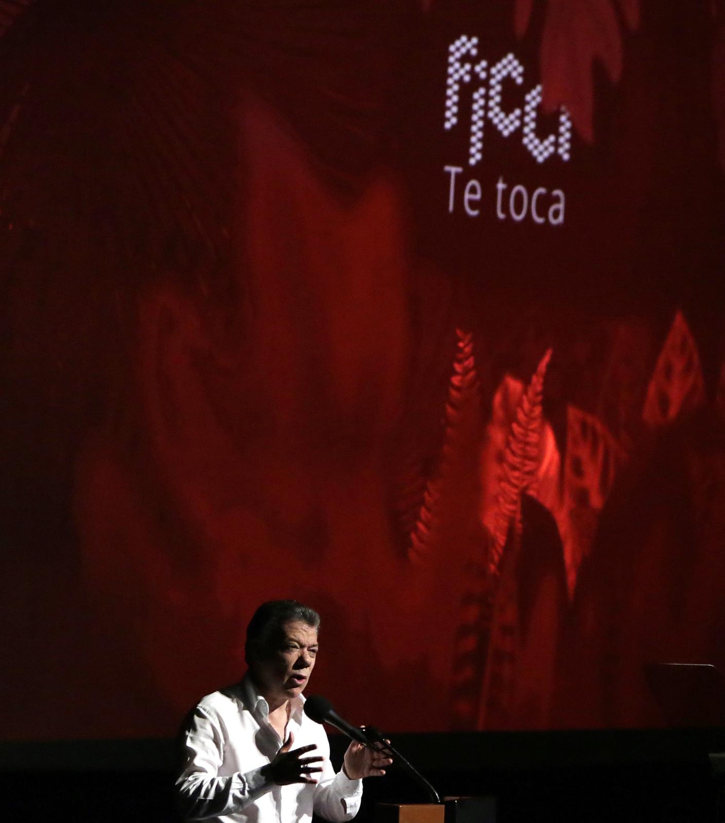 57. edycja Międzynarodowego Festiwalu Filmowego w Cartagenie de Indias w Kolumbii. Fot. PAP/EPA/RICARDO MALDONADO ROZO