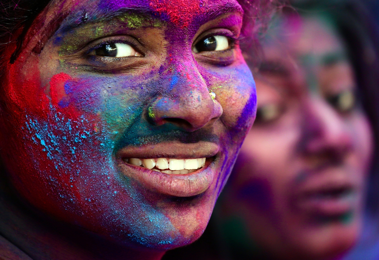 Święty festiwal hinduski w Bangalore. Fot. PAP/EPA/JAGADEESH NV