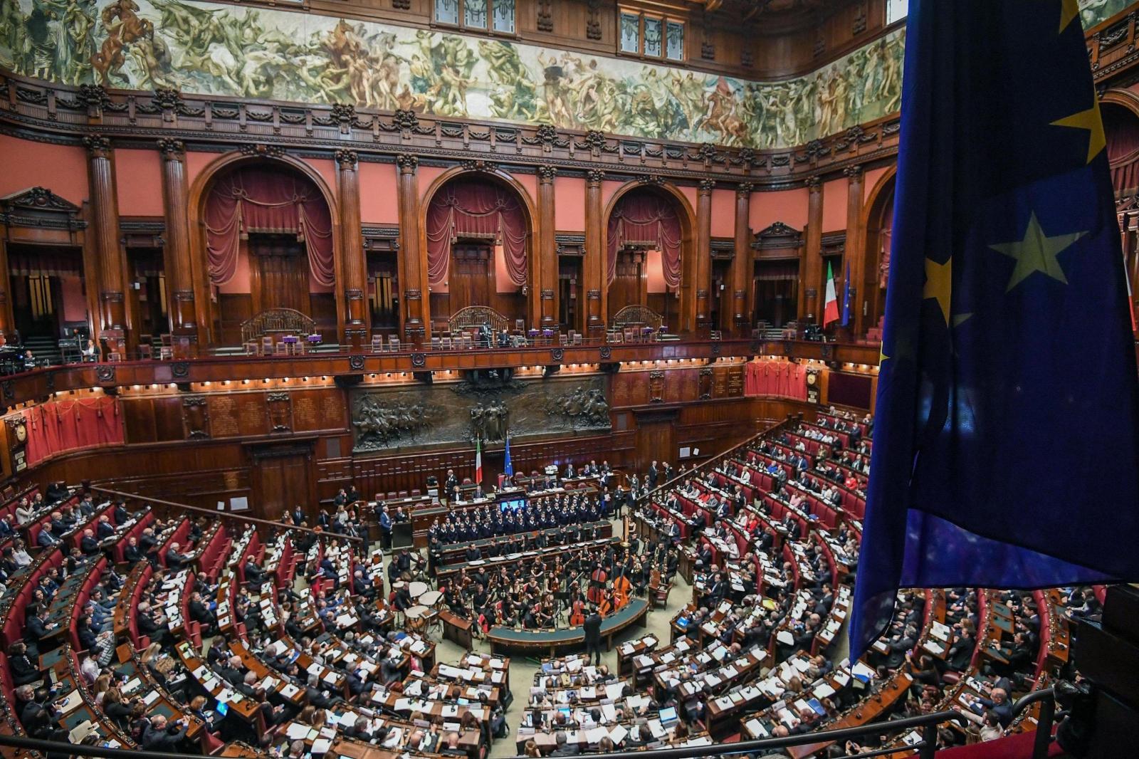 60. rocznica wstąpienia Włoszech do Unii Europejskiej. Fot. PAP/EPA/ALESSANDRO DI MEO