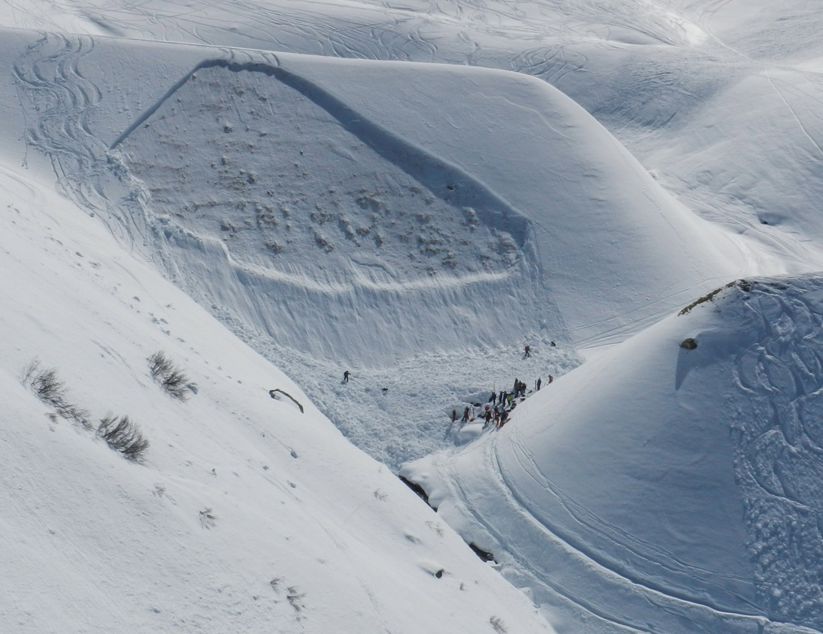 Lawina w Austrii. Fot. PAP/EPA/ZEITUNGSFOTO.AT