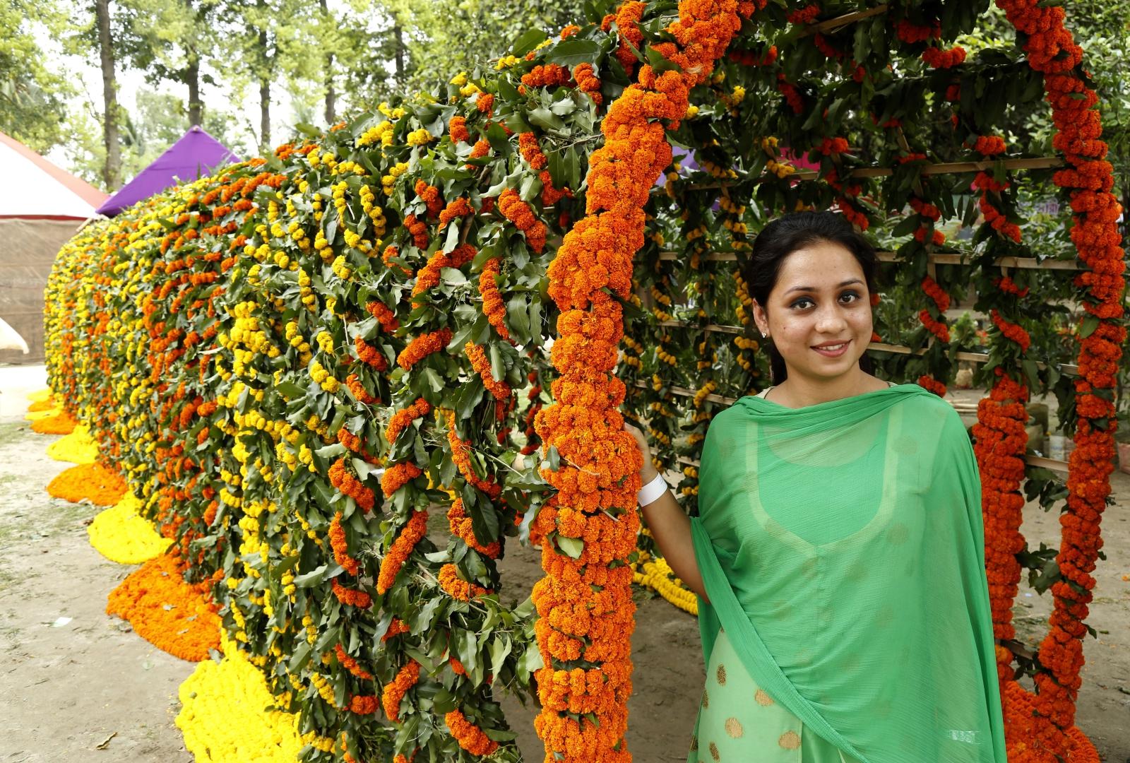 Festiwal Kwiatów w Bangladeszu. Fot. PAP/EPA/ABIR ABDULLAH