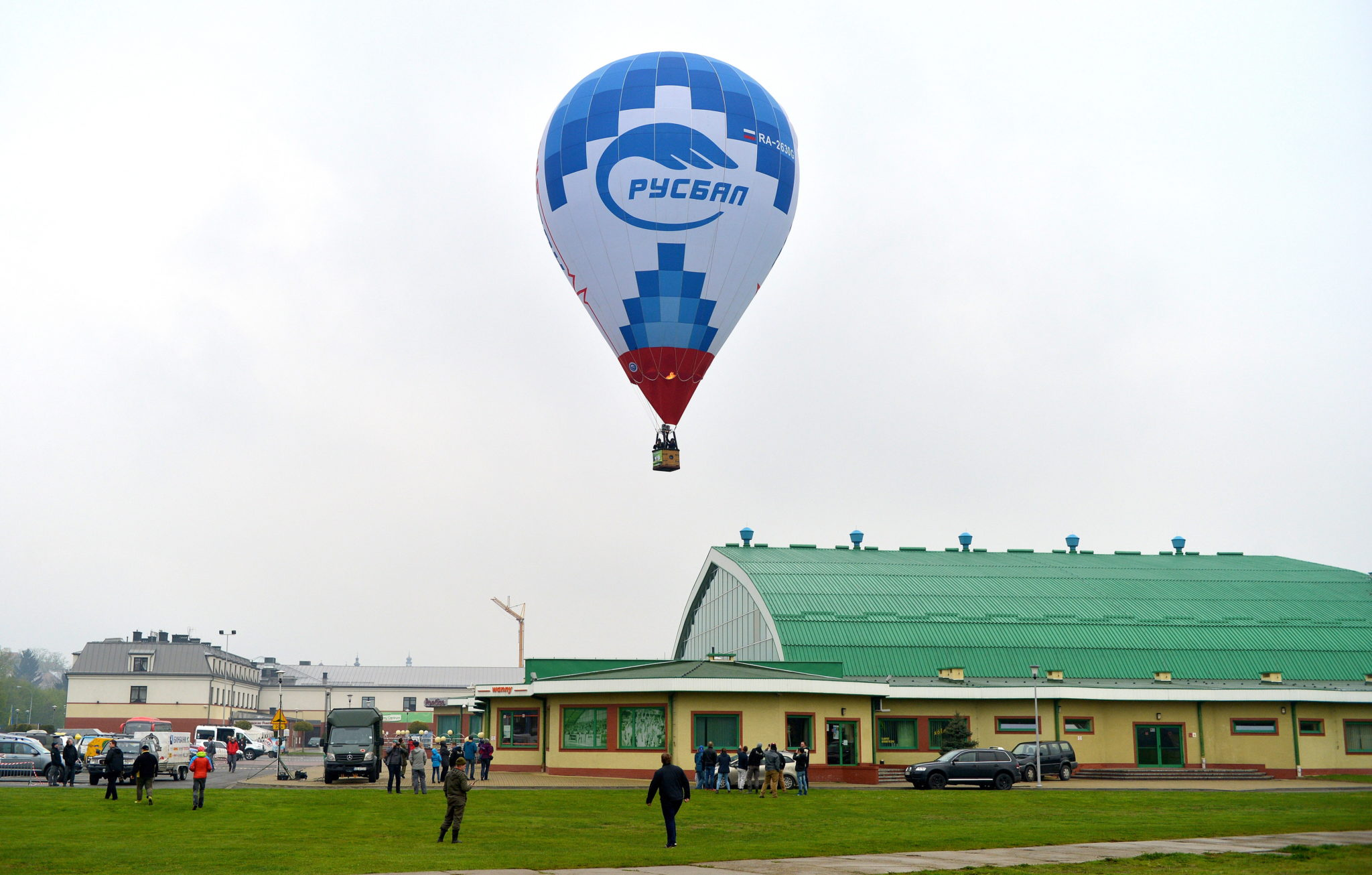 Polska: XVIII Międzynarodowe Górskie Zawody Balonowe w Krośnie (foto. PAP/Darek Delmanowicz)