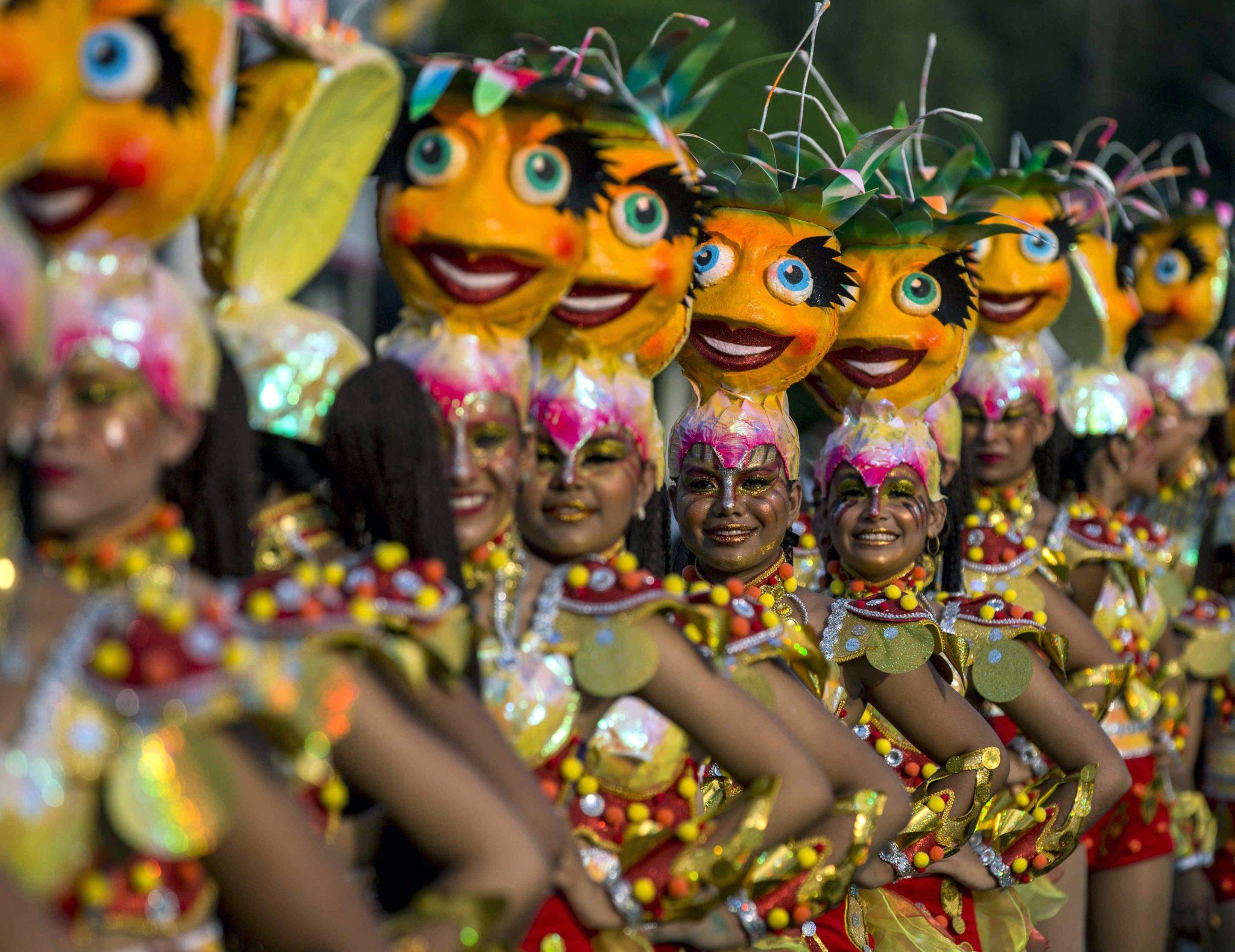 Nikaragua: Karnawał Alegria Por La Vide (Ciesz się życiem) w Managua (foto. PAP/EPA/JORGE TORRES )