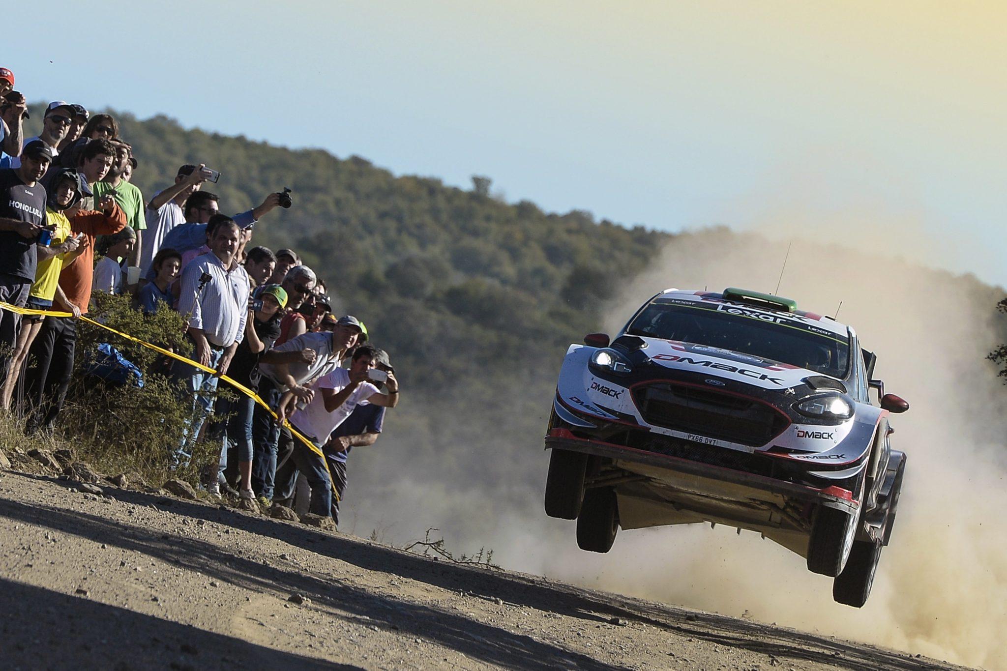 Argentyna: rajd Argentina Rally WRC 2017 (foto. PAP/EPA/STR)