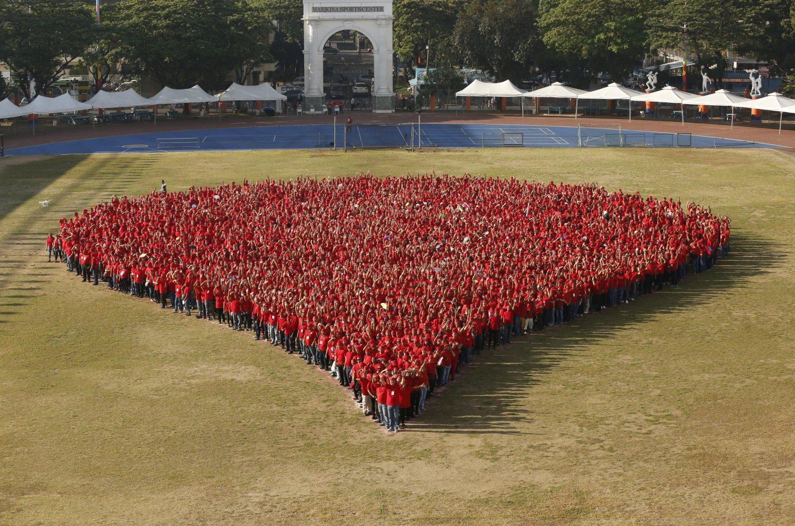 Światowy Dzień Zdrowia na Filipinach. Fot. PAP/EPA/FRANCIS R. MALASIG