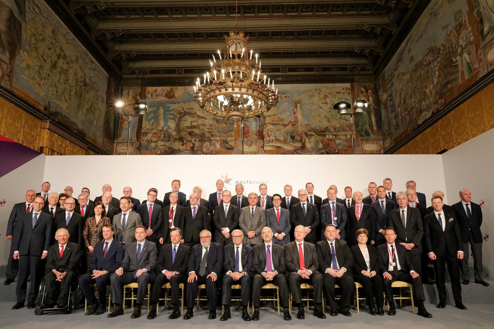 Nieformalne Spotkanie Ministrów Ekonomii i Finansów na Malcie. Fot. PAP/EPA/DOMENIC AQUILINA