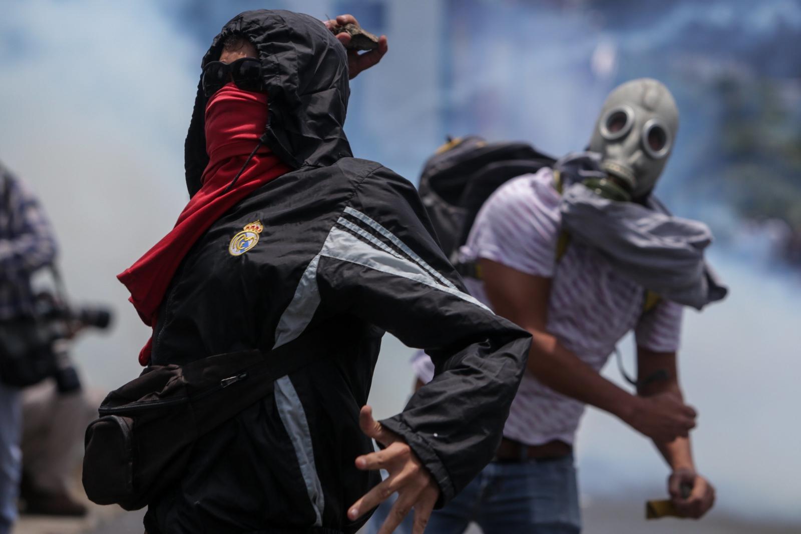 Kolejny dzień antyrządowych protestów w Wenezueli.