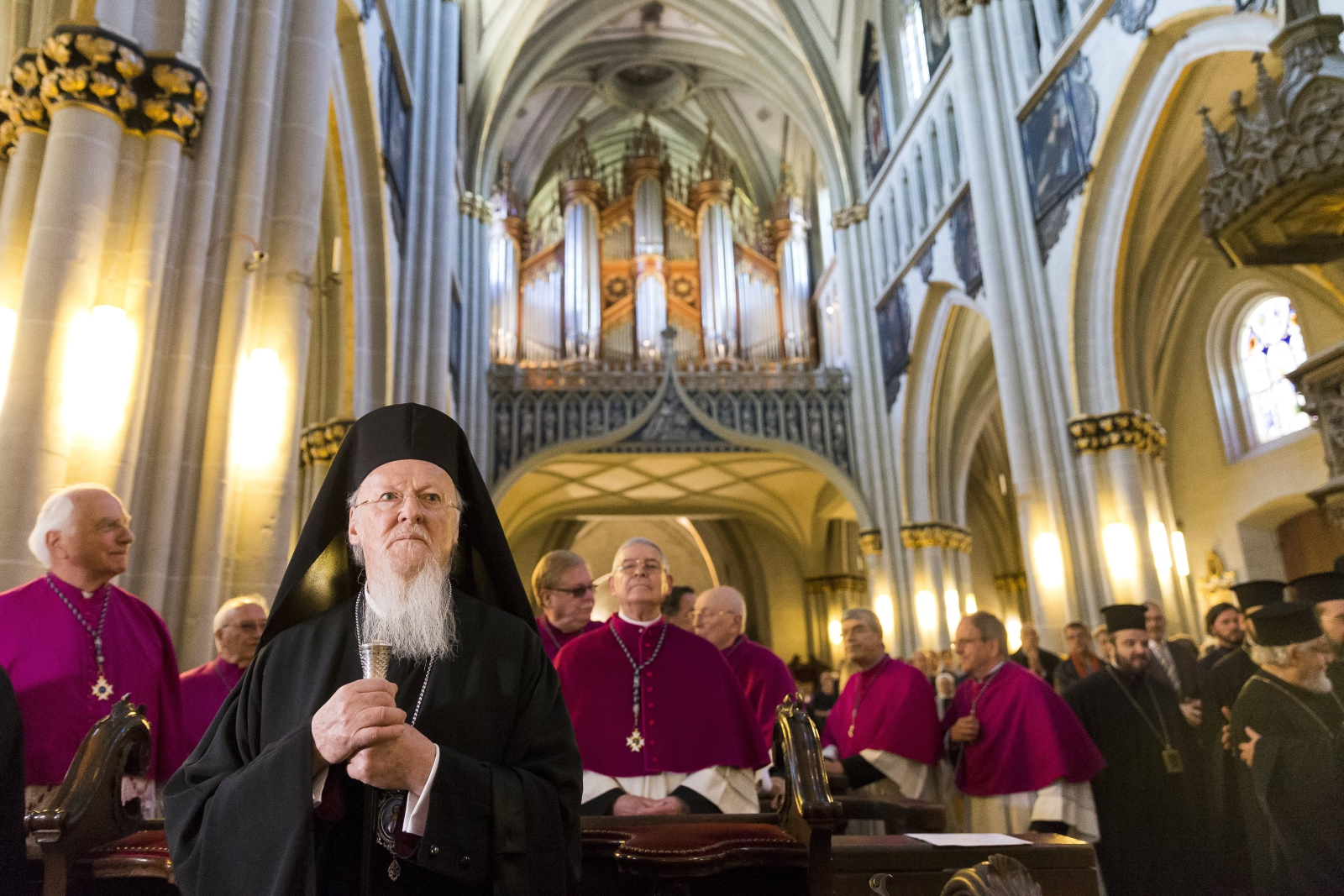 Patriarcha Bartłomiej, fot. PAP/EPA