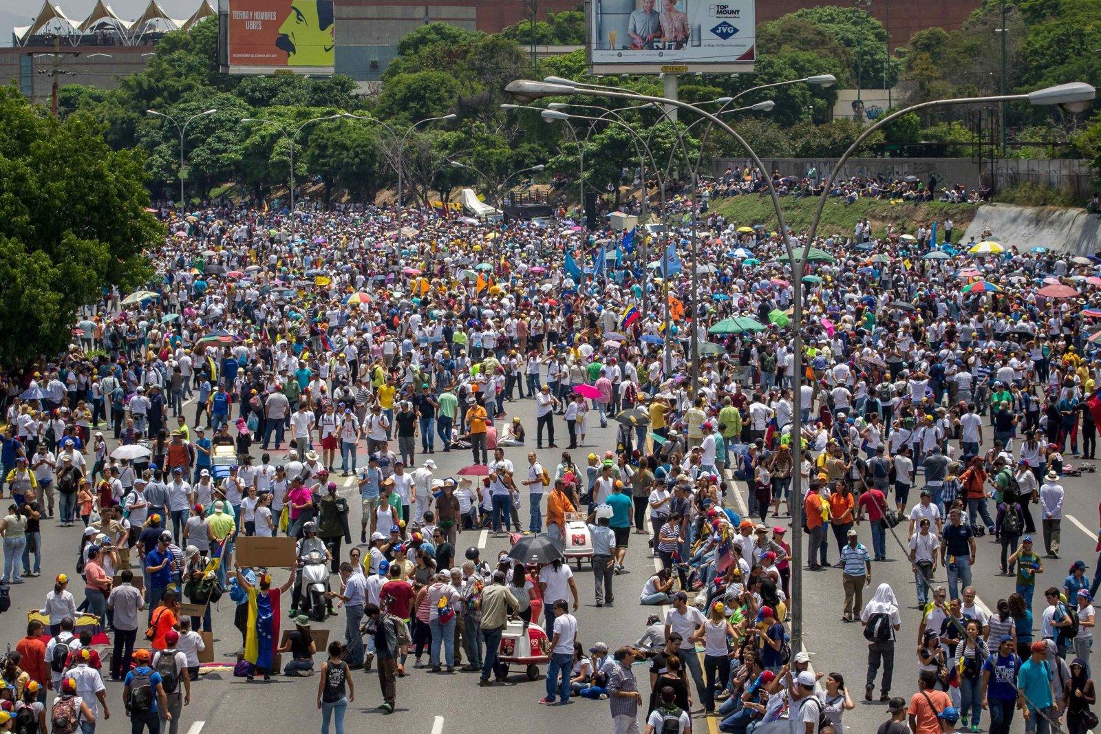 W Caracas, stolicy Wenezueli, trwają antyrządowe demonstracje.