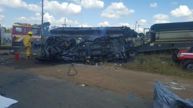 Wypadek busa wiozącego dzieci do szkoły spowodował śmierć 20 z nich. Fot. PAP/EPA/ER24