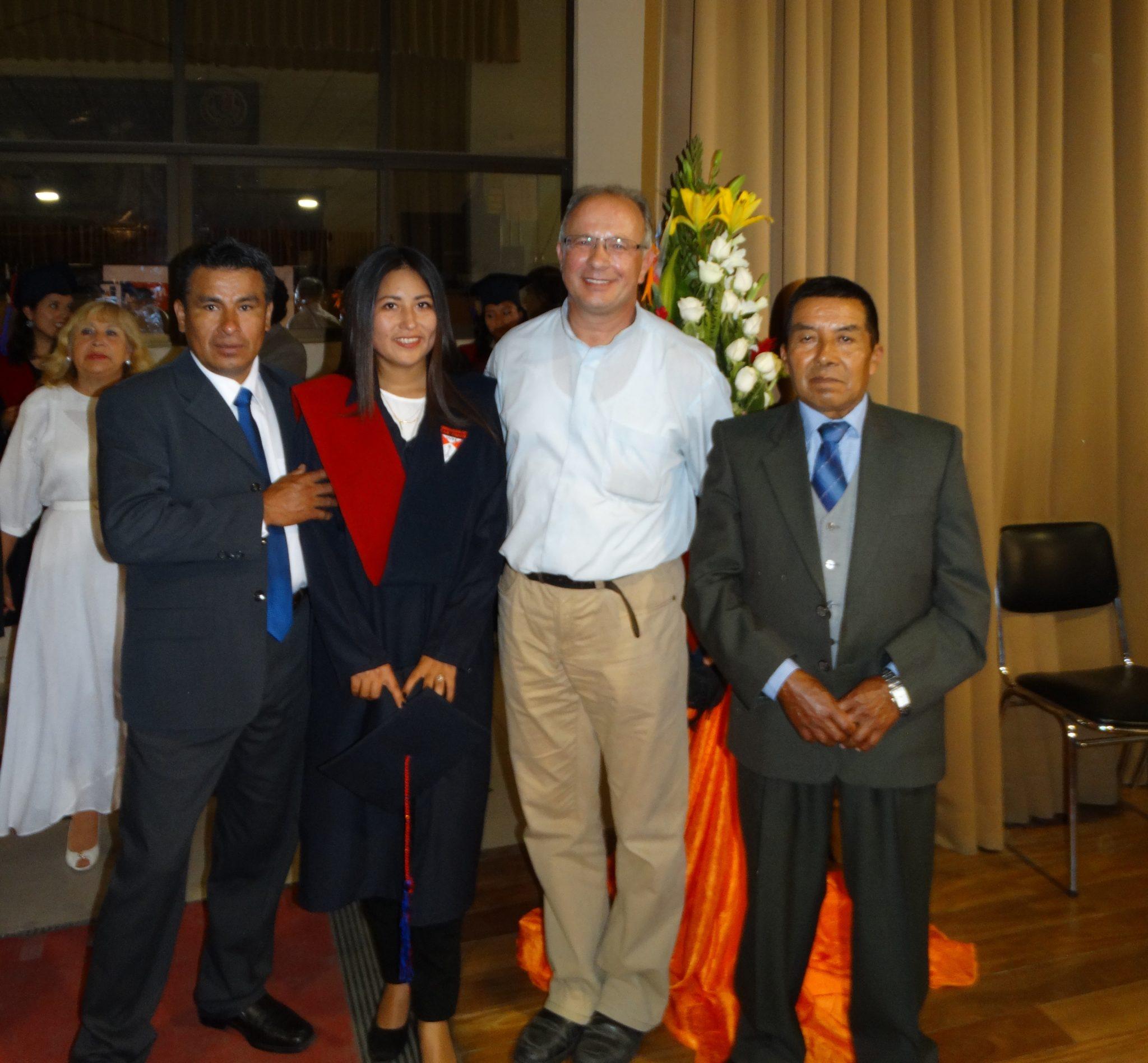 Zakończenie roku akademickiego chórzystki z mojej parafii