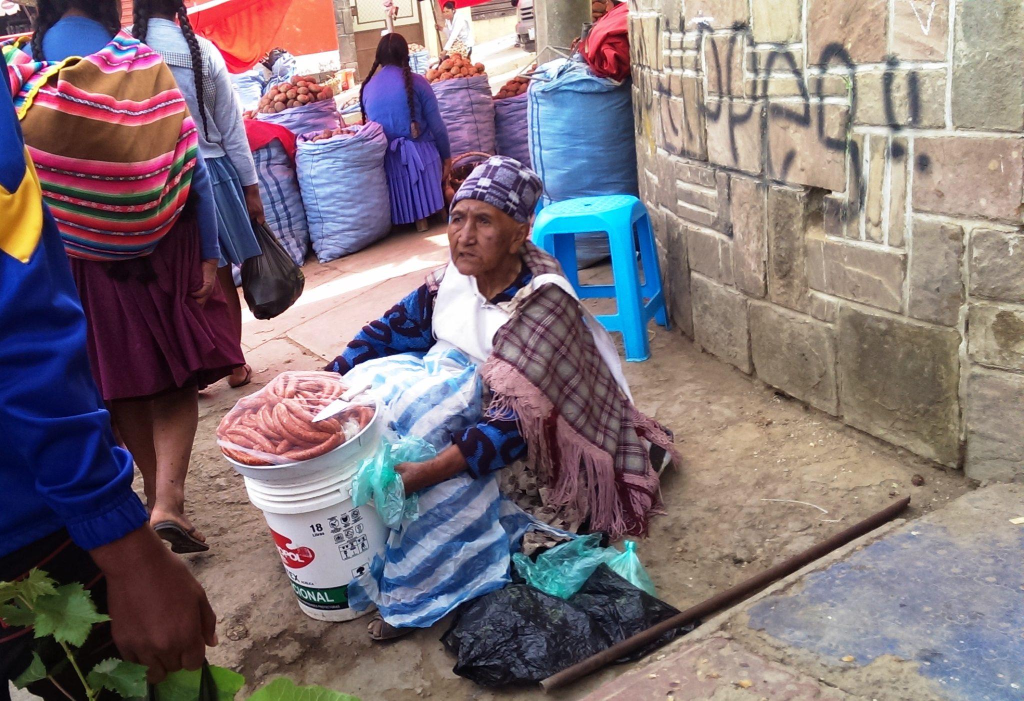 Na rynku w Cochabambie