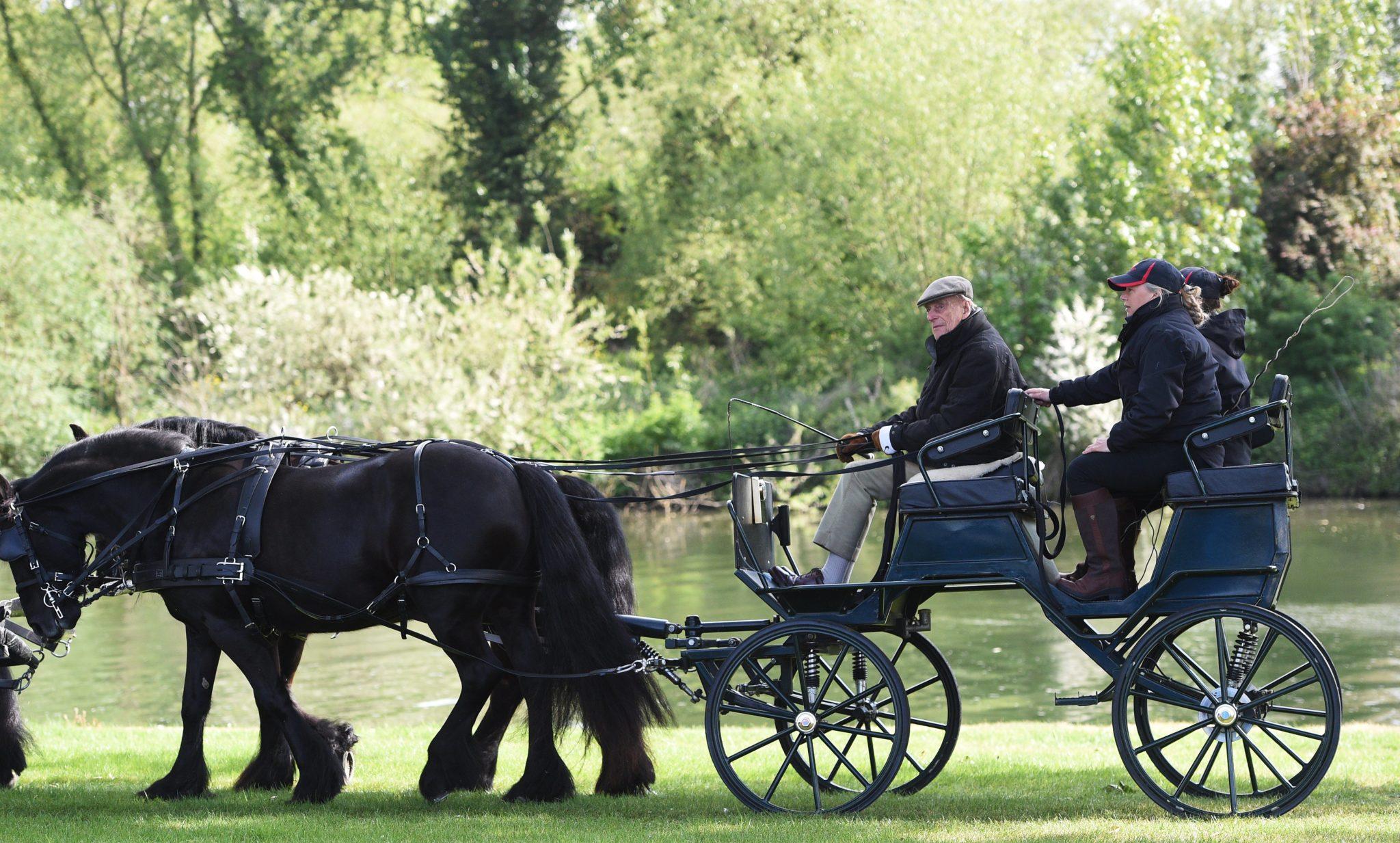 Wielka Brytania: królewski pokaz w Edynburgu (foto. PAP/EPA/FACUNDO ARRIZABALAGA)