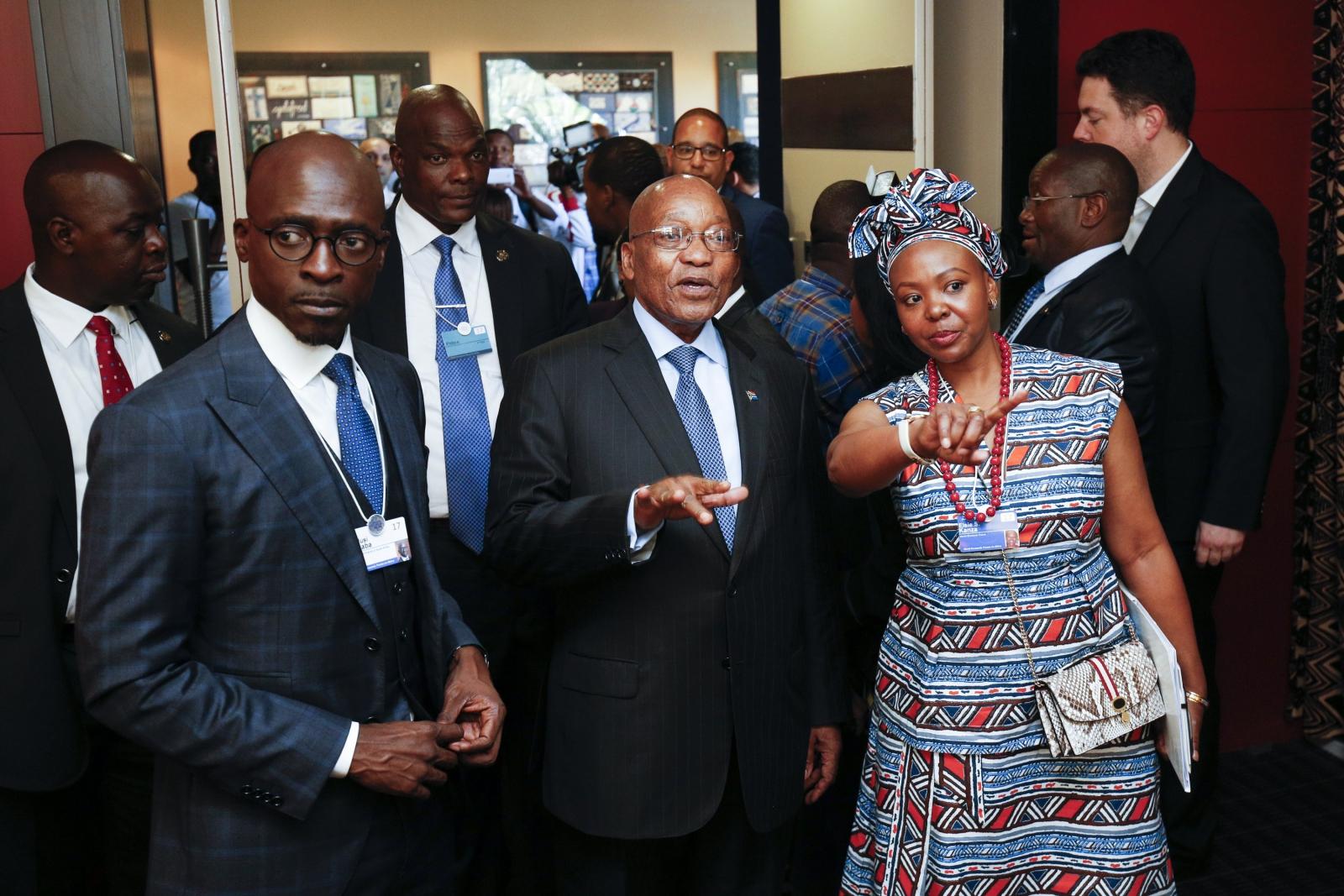 Światowe Forum Ekonomiczne 2017 w RPA. Fot. PAP/EPA/STRINGER