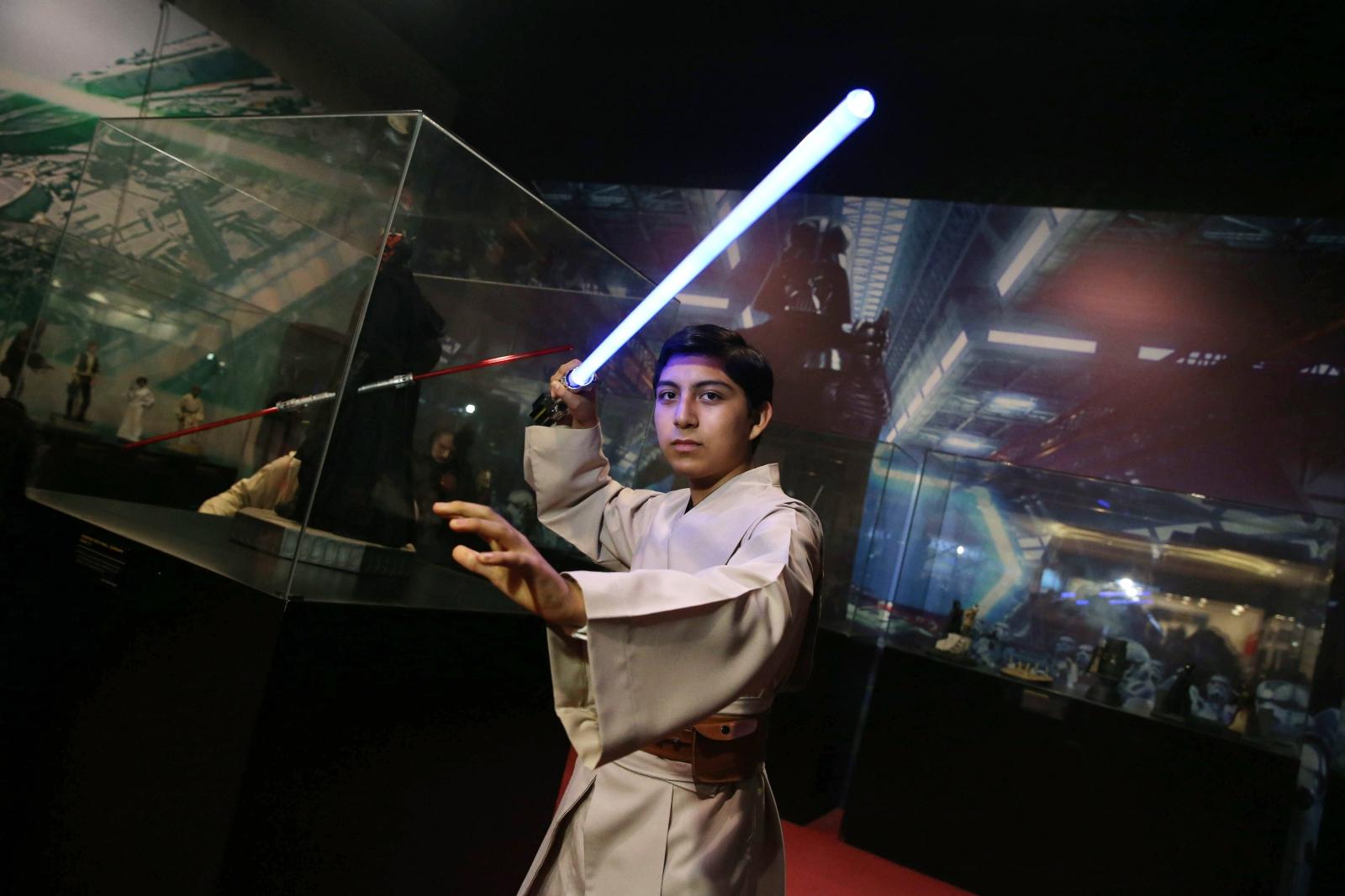 Dzień Star Wars w Peru. Fot. PAP/EPA/ERNESTO ARIAS