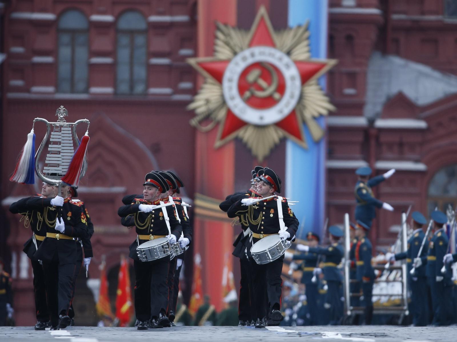 Moskwa, Dzień Zwycięstwa. fot. EPA/SERGEI CHIRIKOV