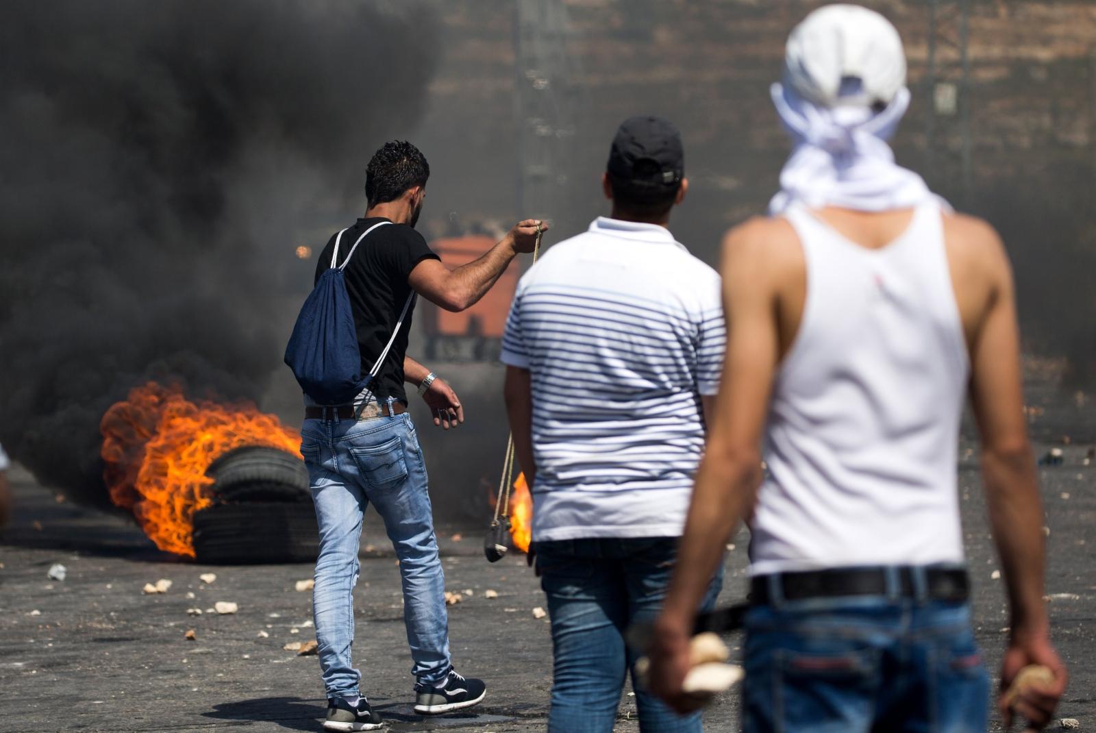 Konflikt palestyńsko-izraelski. fot. EPA/ATEF SAFADI