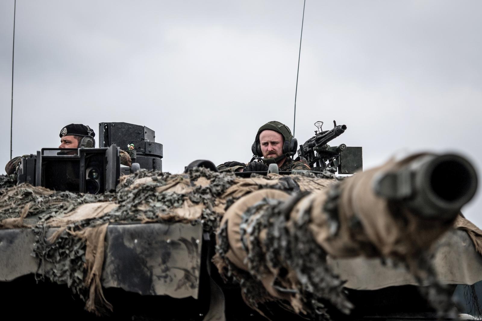 Niemcy, ćwiczenia NATO. fot. EPA/CHRISTIAN BRUNA