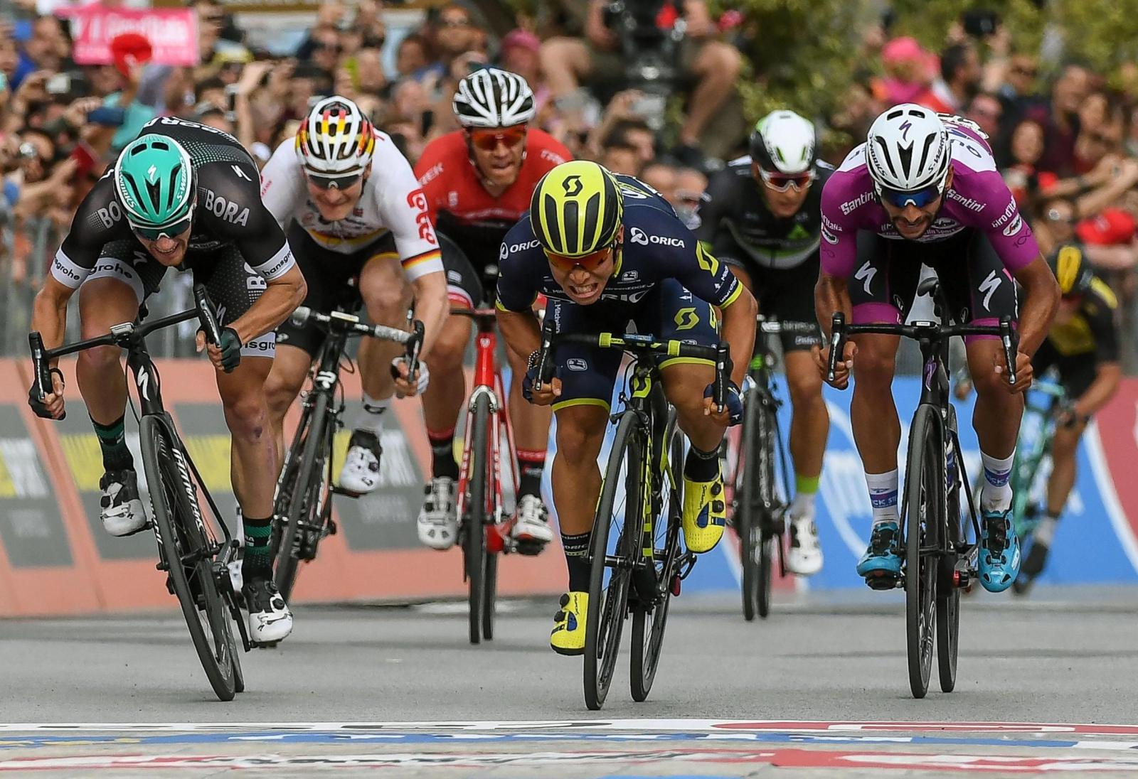 Giro d'Italia. fot. EPA/ALESSANDRO DI MEO