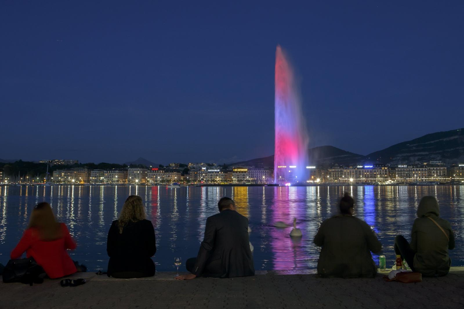 Słynna fontanna
