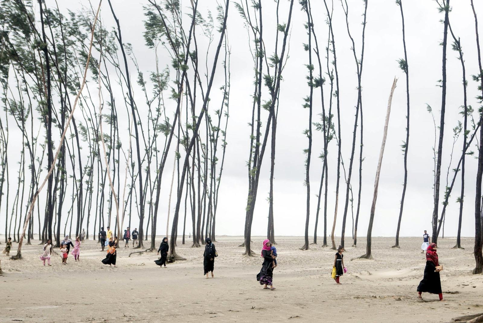 Cyklon Mora w Bangladeszu.