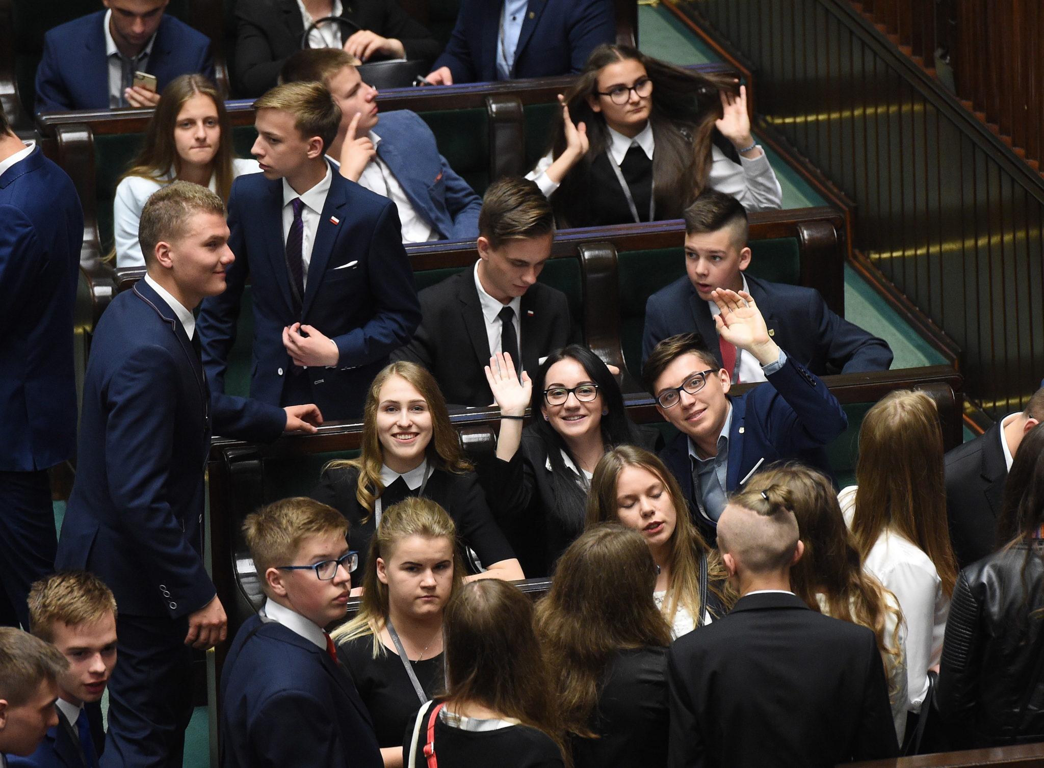 XXIII Sejm Dzieci i Młodzieży w Warszawie.