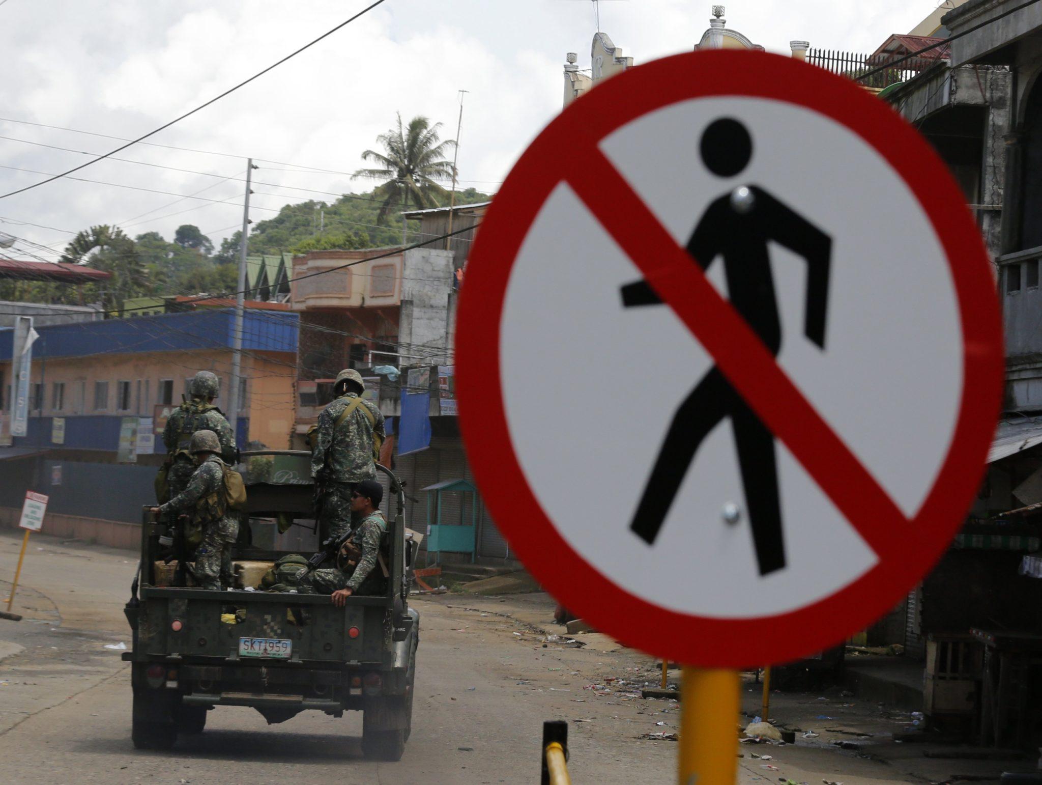 Wewnętrzne zamieszki w Marawi na Filipinach, pomiędzy silami rządowymi a bojownikami tzw. Państwa Islamskiego