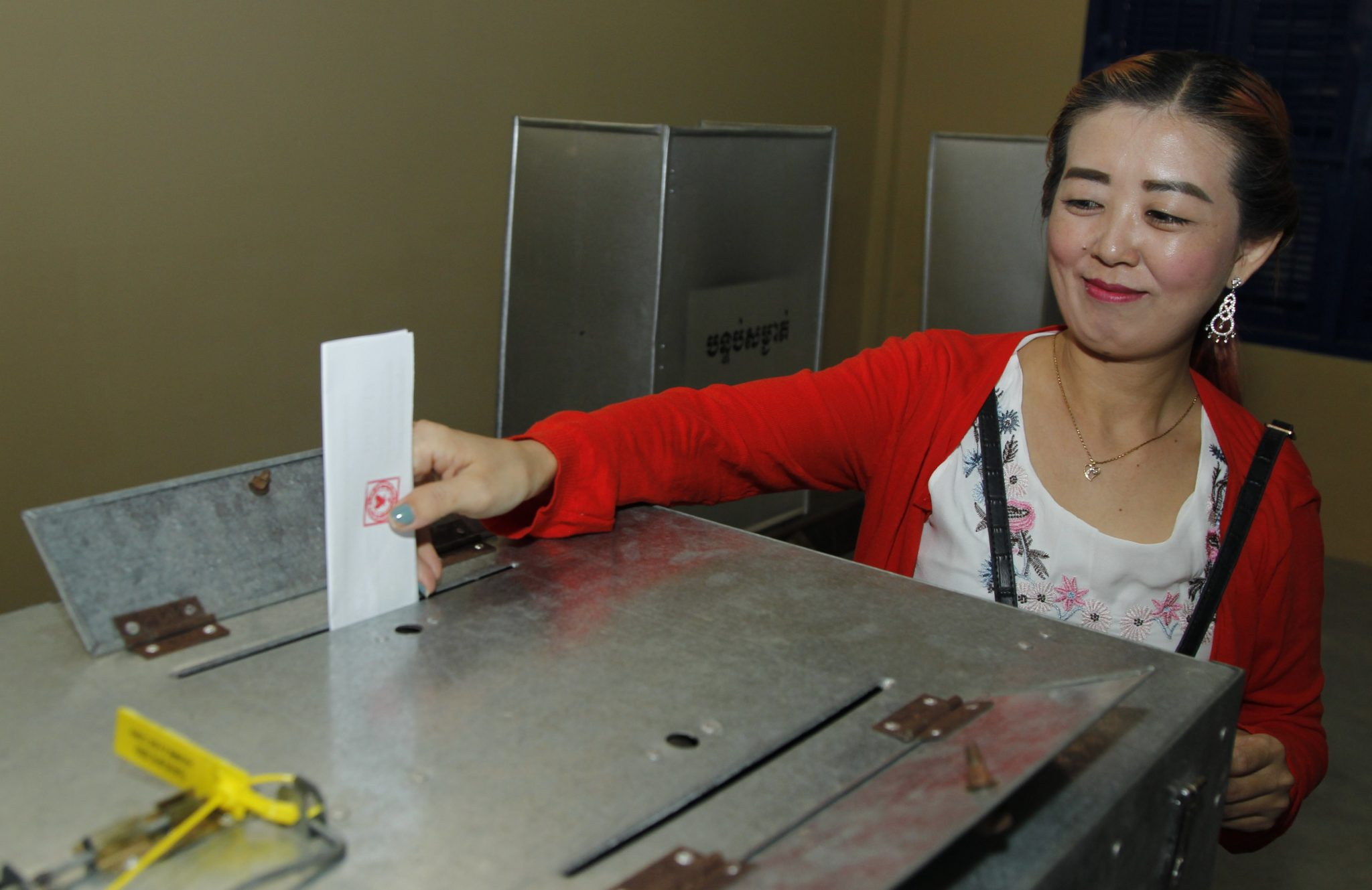 Lokalne wybory w Kambodży