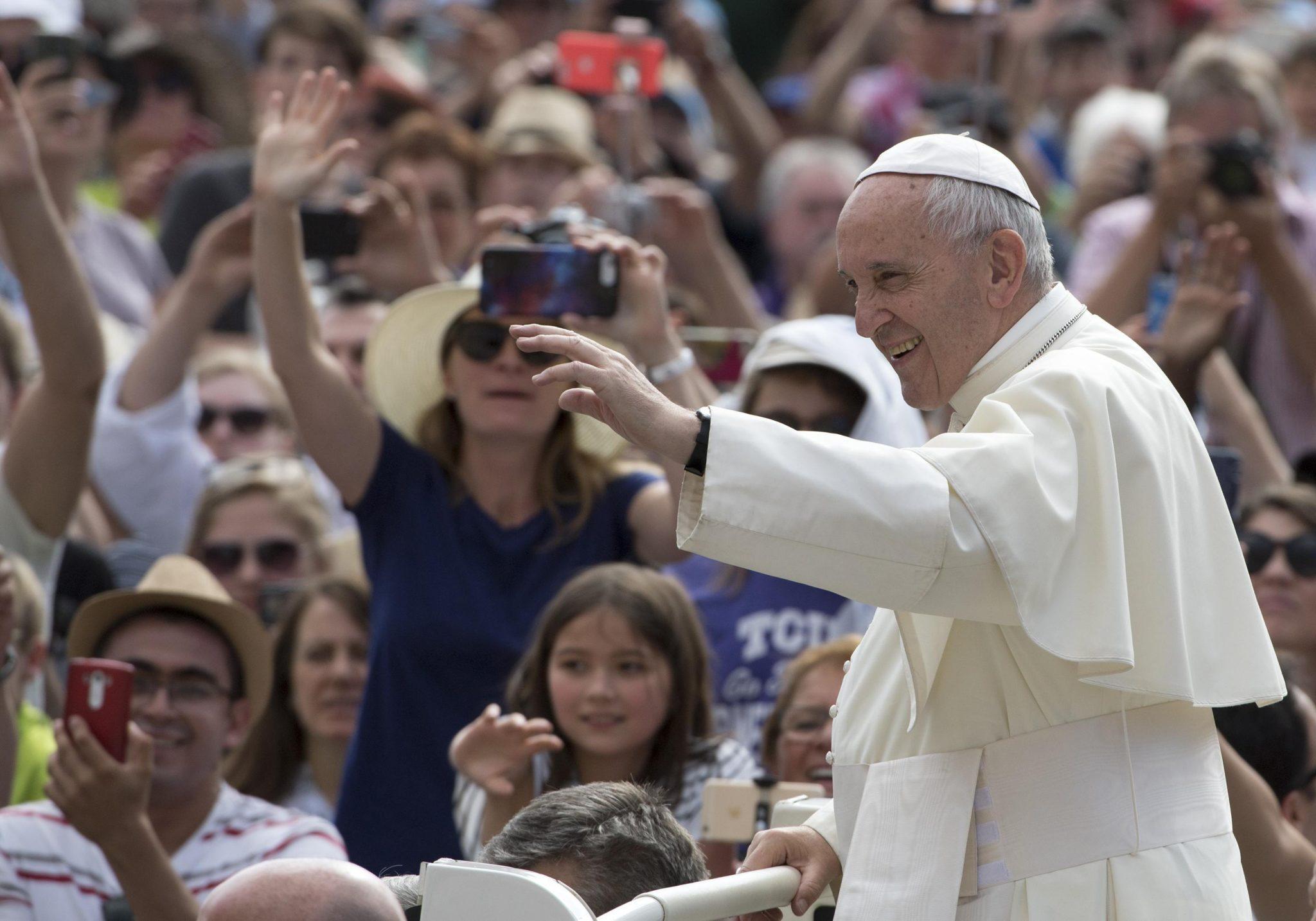 Audiencja Generalna papieża Franciszka w Watykanie