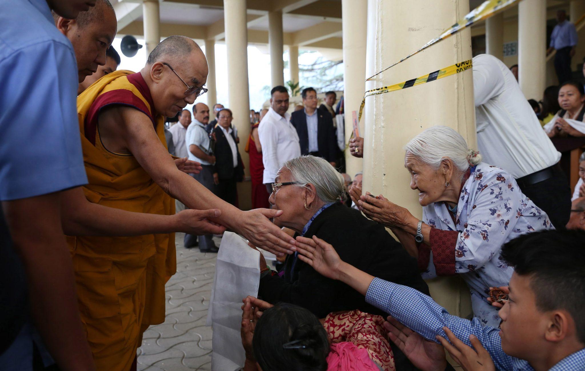 Wizyta duchowego przywódcy Tybetańczyków Dalajlamy w Dharmsala