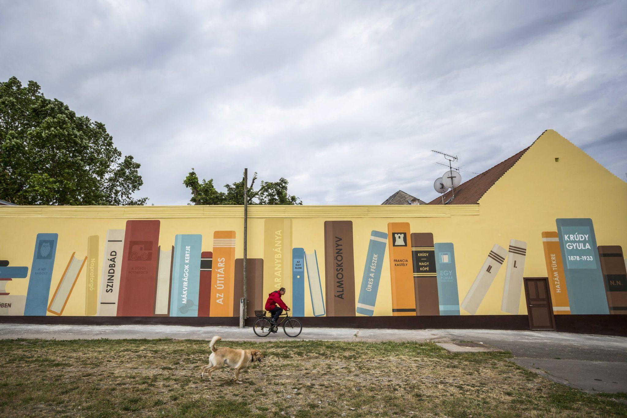 350. metrowy mural w Budapeszcie