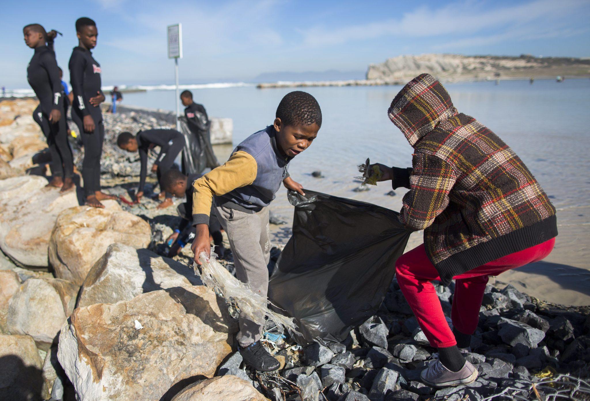 Dziecięcy Dzień Sprzątania Świata w Republice Południowej Afryki