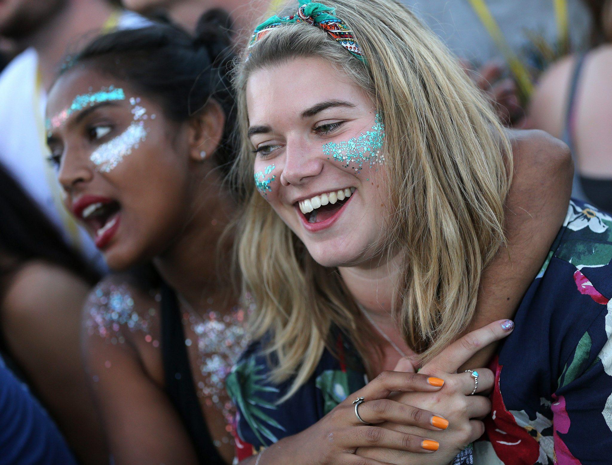 Festiwal Glastonbury, fot: Nigel Roddis, PAP/EPA.