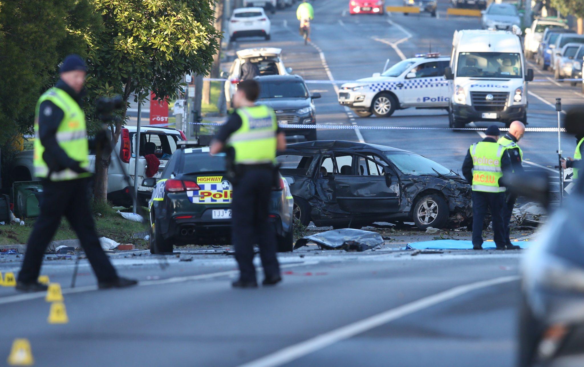 Wypadek na jednej z najruchliwszych dróg Sydney w Australii