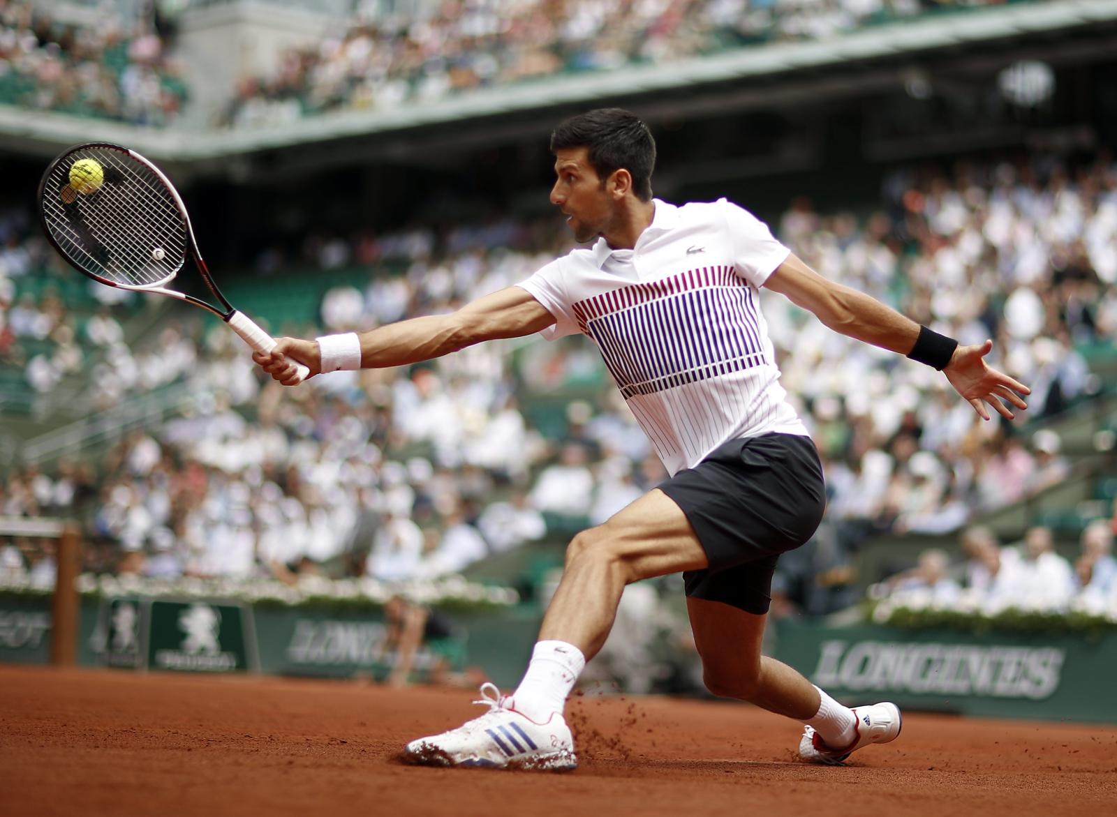 French Open. fot. EPA/YOAN VALAT