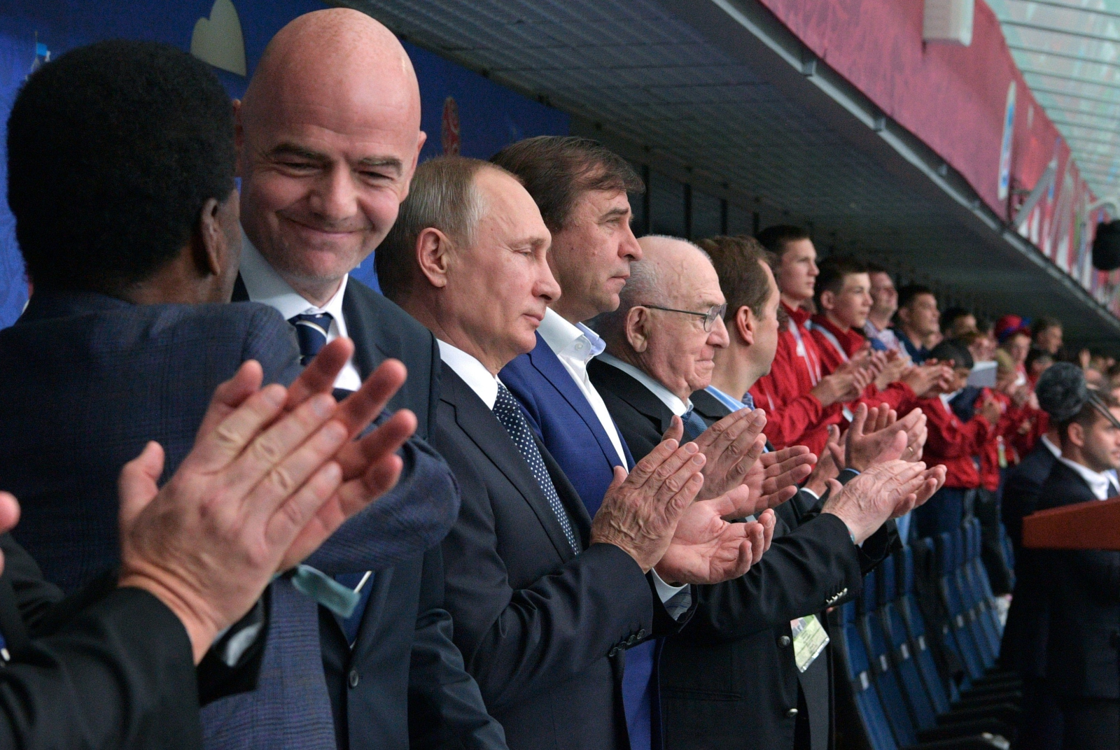 FIFA Confederations Cup 2017 , mecz Rosja-Nowa Zelandia, fot: Alexei Druzhinin /PAP, EPA