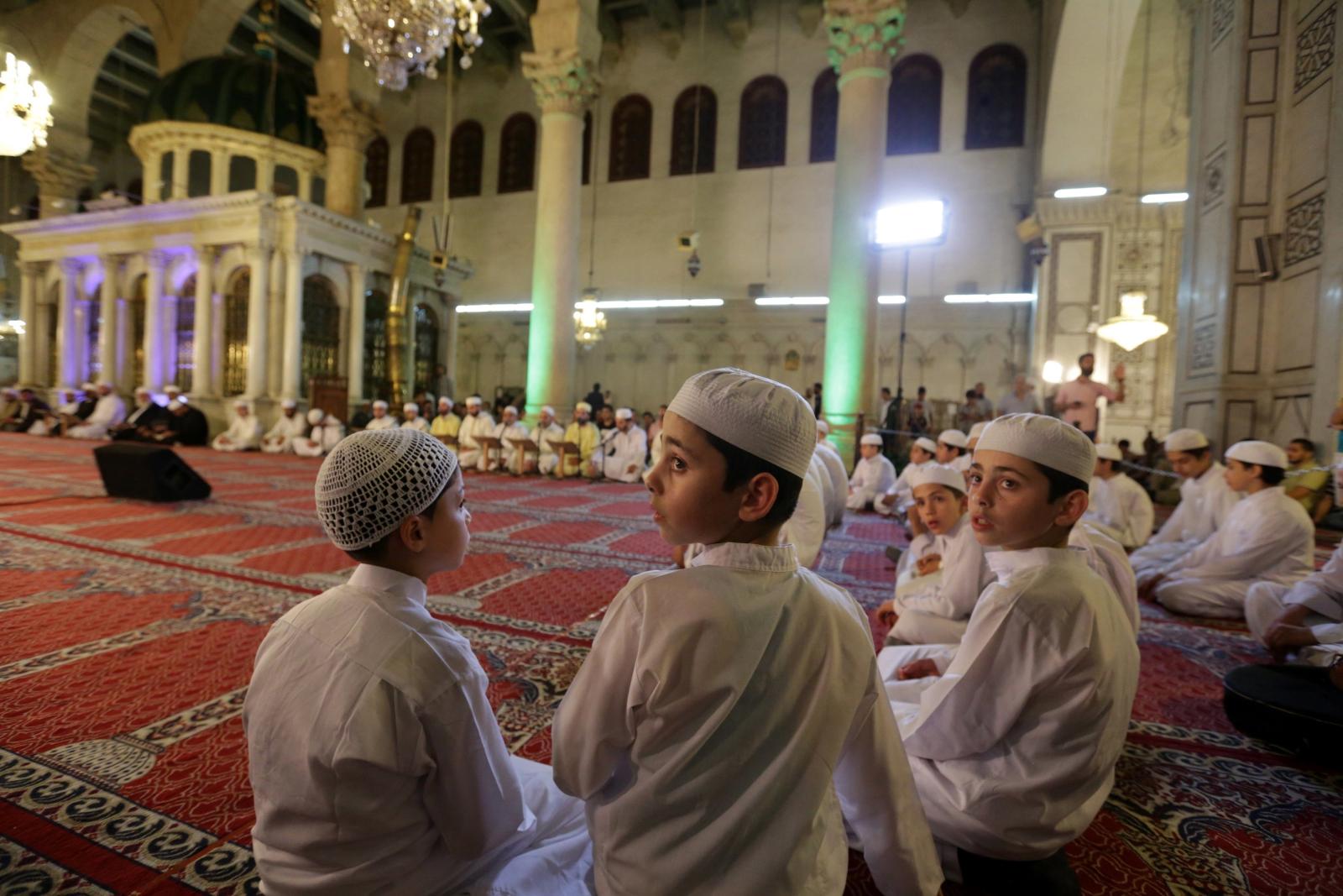 Ramadan w Syrii. Fot. EPA/YOUSSEF BADAWI Dostawca: PAP/EPA.