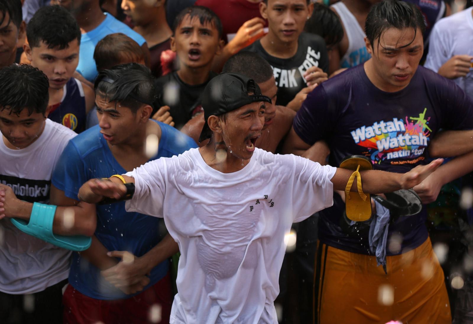 Festiwal Wattah Wattah. fot. EPA/EUGENIO LORETO