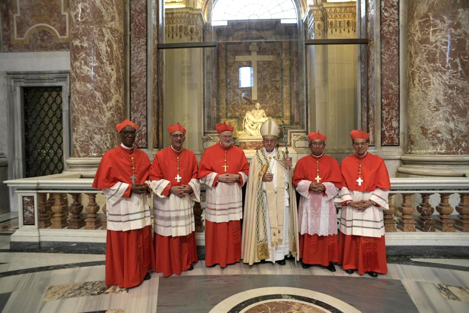 Watykan ma pięciu nowych kardynałów