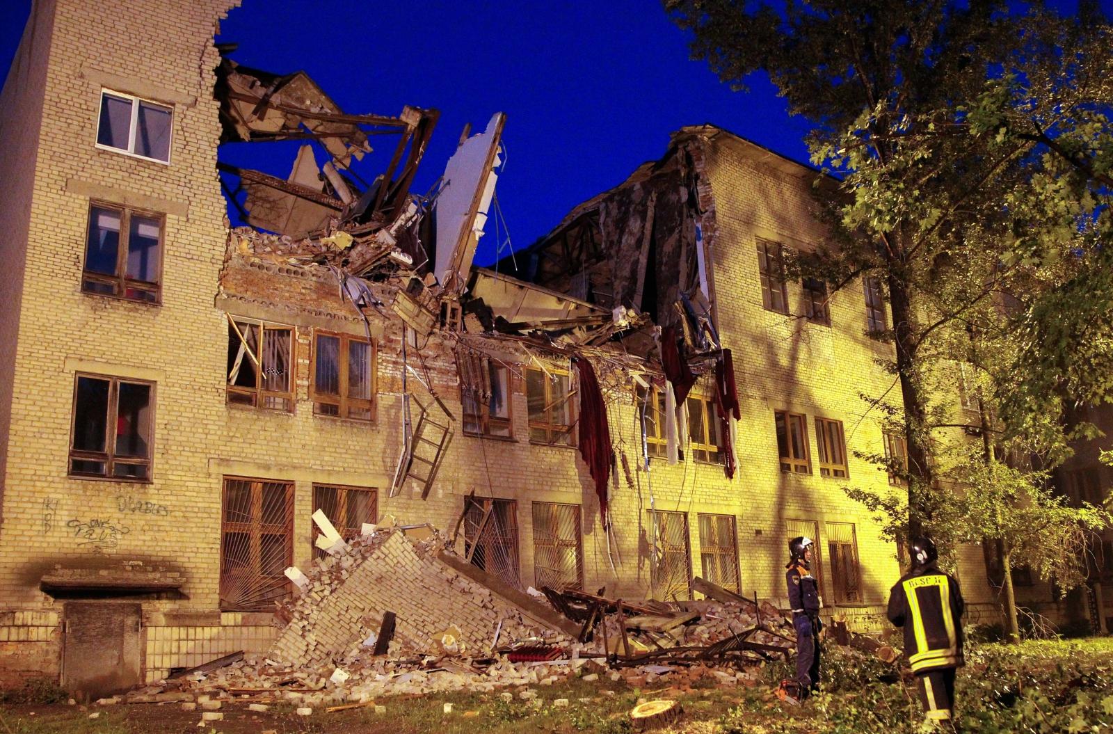 Eksplozja w budynku uniwersytetu w kontrolowanym przez prorosyjskich rebeliantów Doniecku.