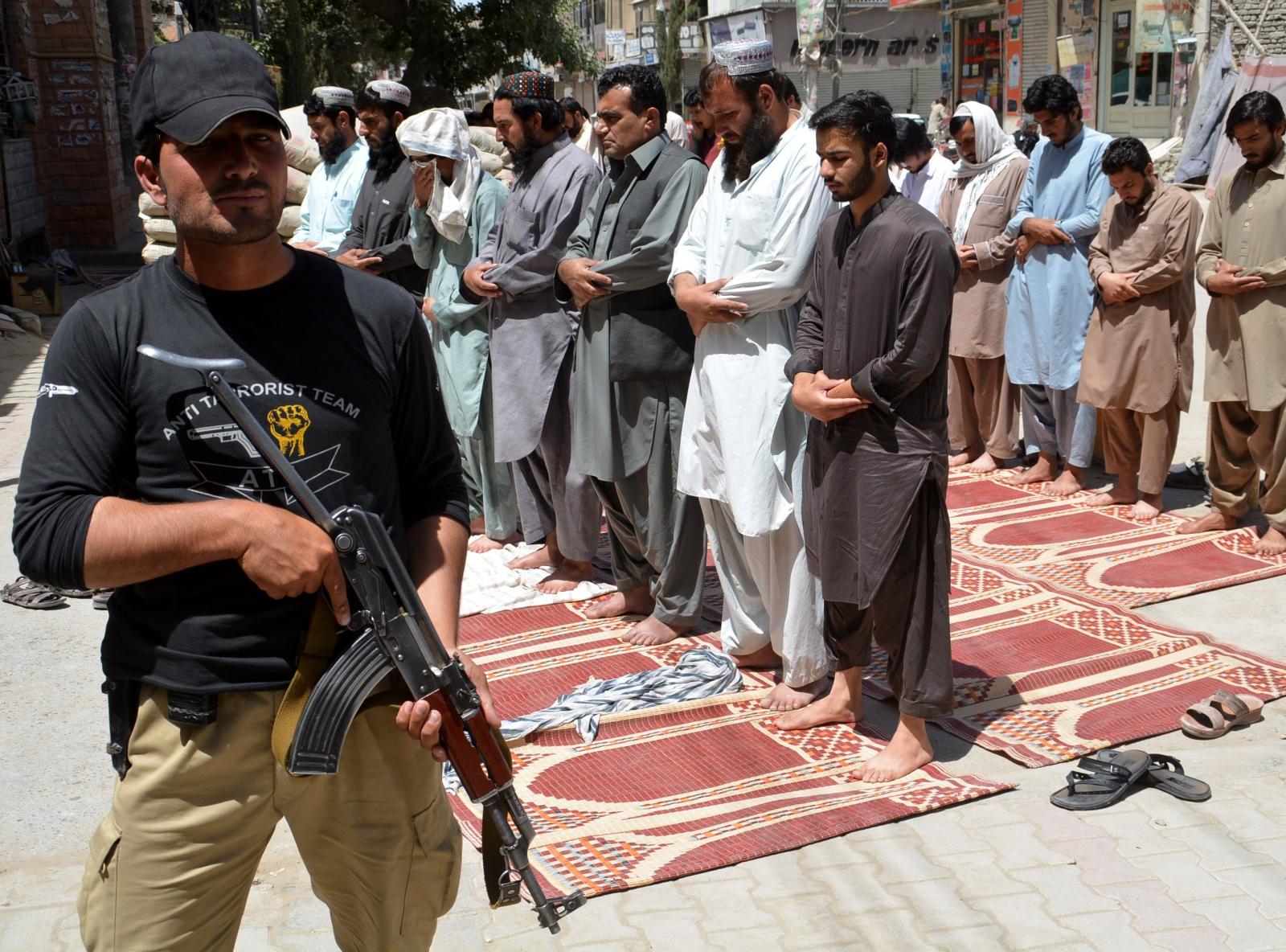 Pakistan, Ramadan, fot: PAP/EPA / Jamal Taraqai