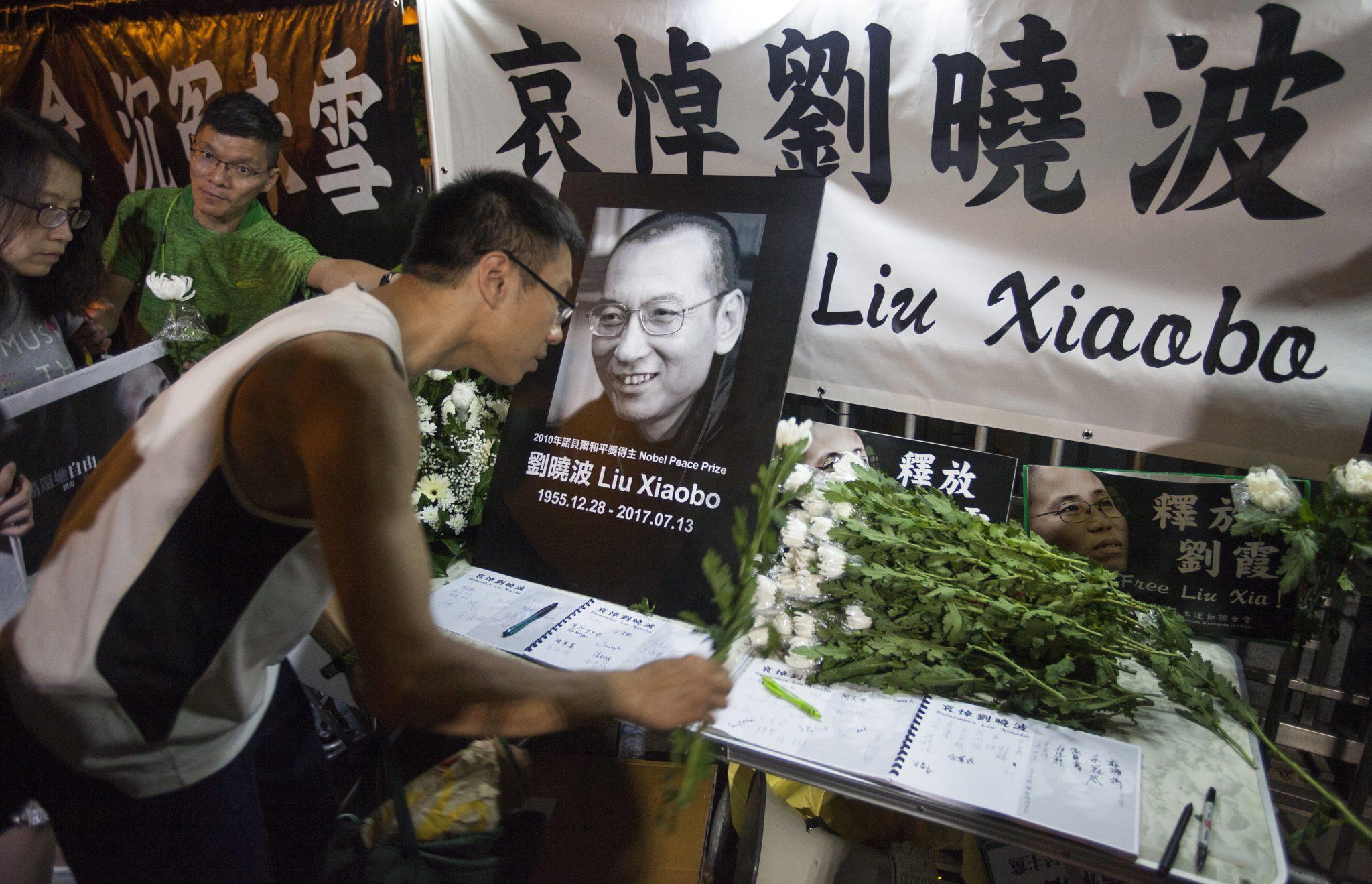 Nie żyje laureat Pokojowej Nagrody Nobla  Liu Xiaobo , fot: PAP/EPA.