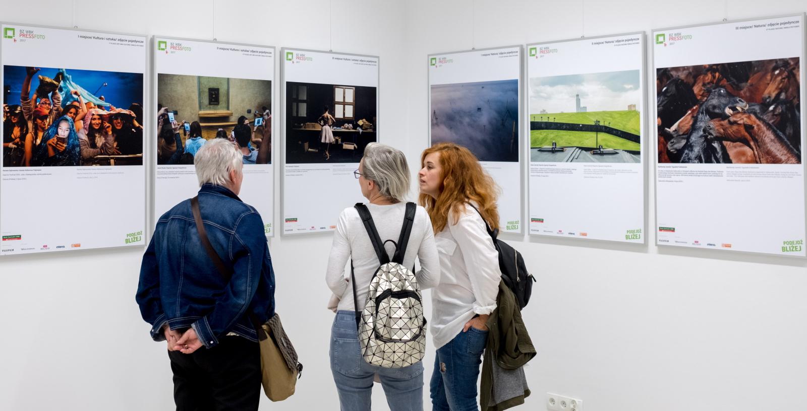 Otwarcie wystawy Press Photo. fot. PAP/Andrzej Grygiel