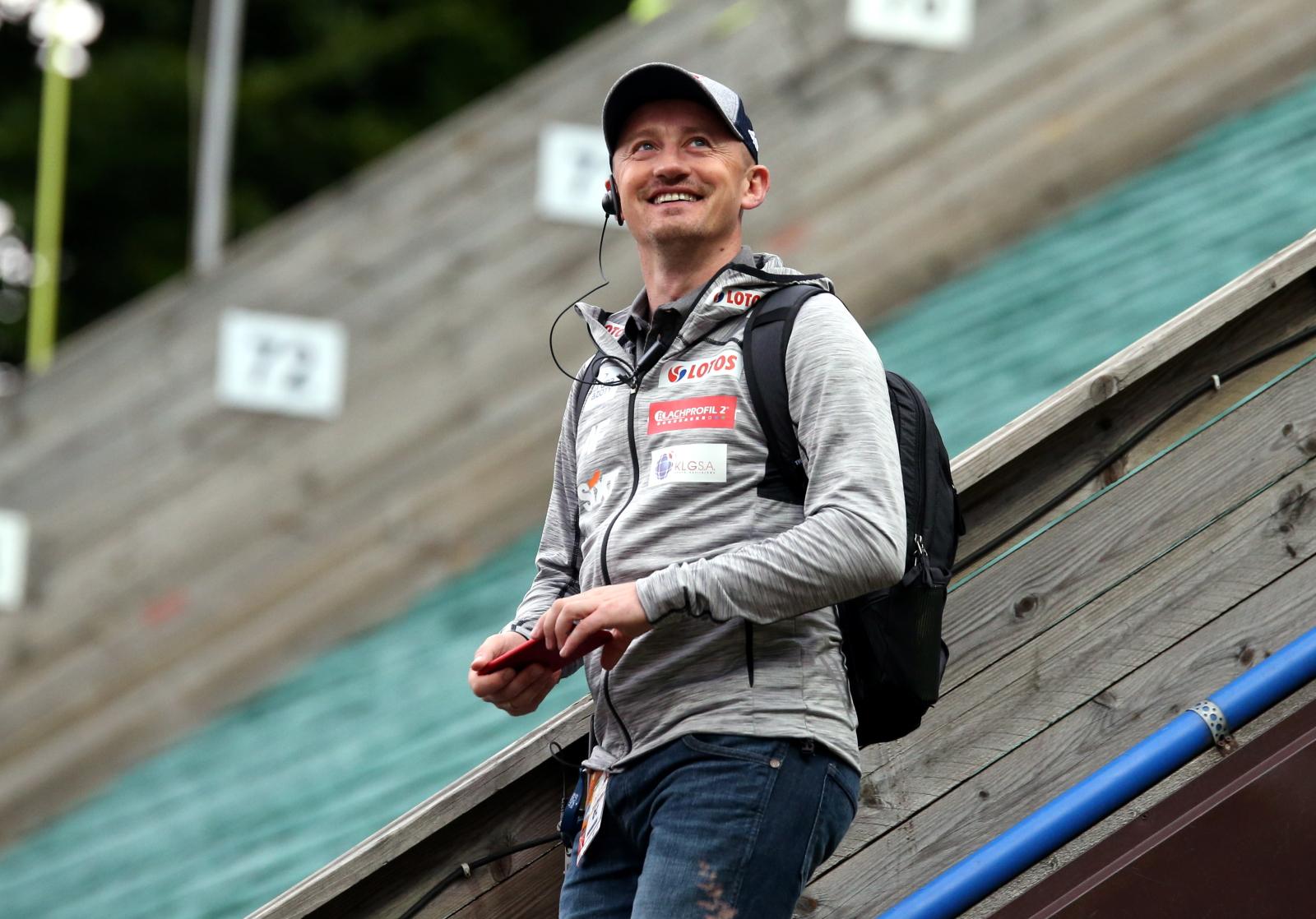 Dyrektor sportowy PZN Adam Małysz. fot. PAP/Grzegorz Momot