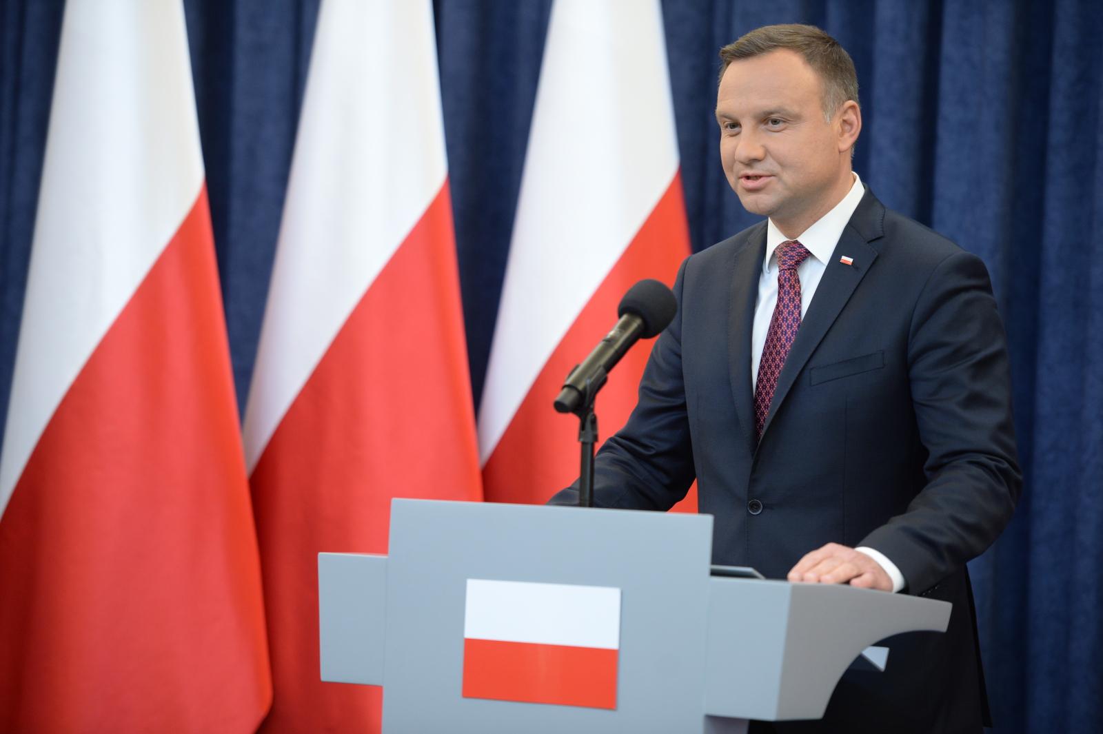 Oświadczenie prezydenta Andrzeja Dudy