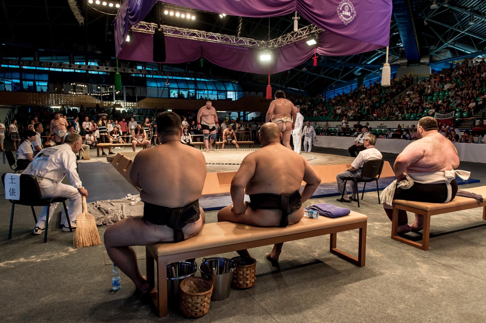 Zawody sumo podczas Światowych Igrzysk Sportów Nieolimpijskich we Wrocławiu