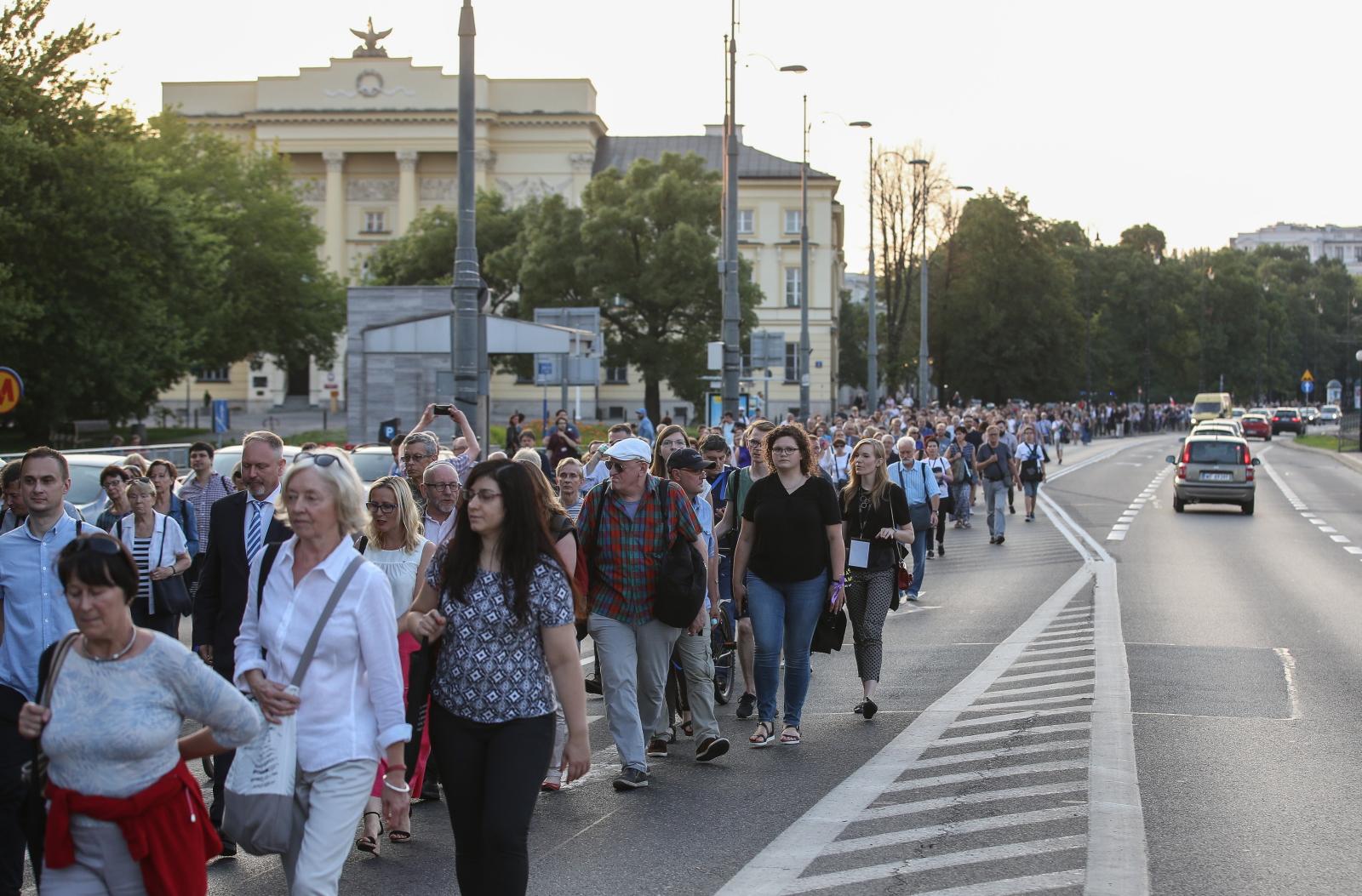 Marsz Pamięci w Warszawie