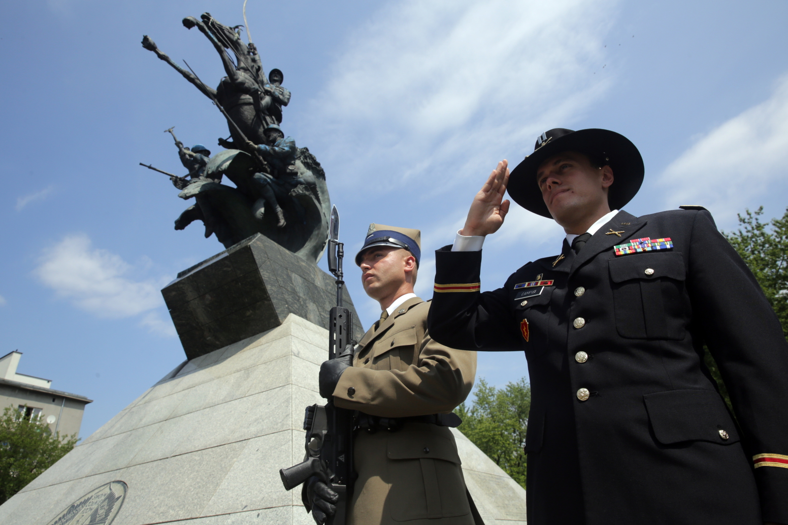 Uroczystość stulecia Błękitnej Armii, Warszawa