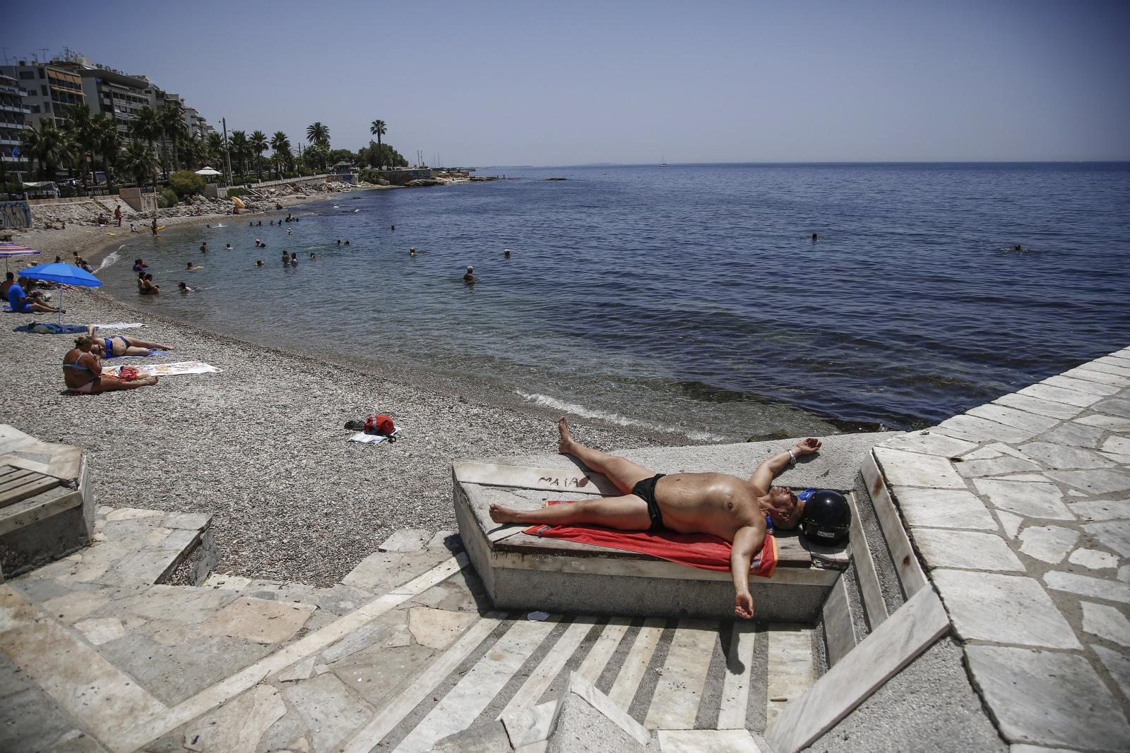 Ponad 40 stopniowe upały w Grecji